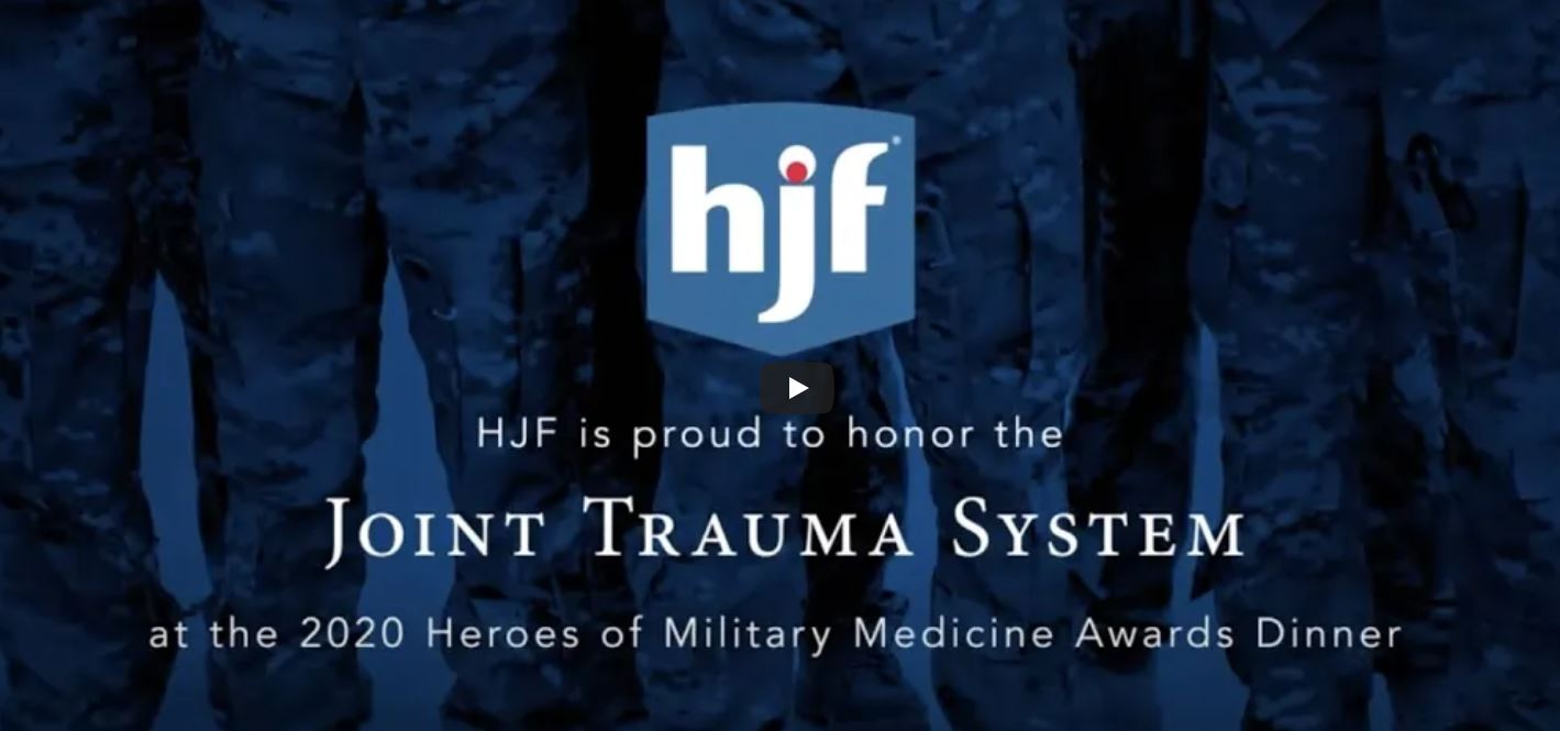 Joint Trauma System 2020 Hero of Military