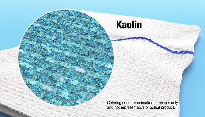 How QuikClot's Kaolin Technology Works